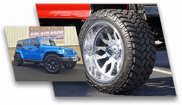 Off Road Rims And Tires Package >> Truck Wheels And Truck Tires Wheel Tire Packages In St Louis Mo