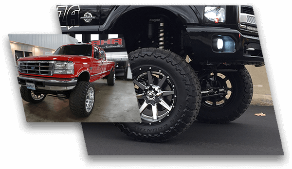 suspension modifications shocks lift kits